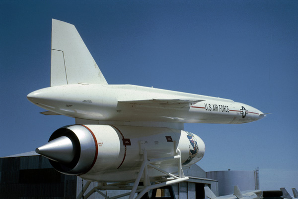 Hound Dog missile on display Dow AFB Maine