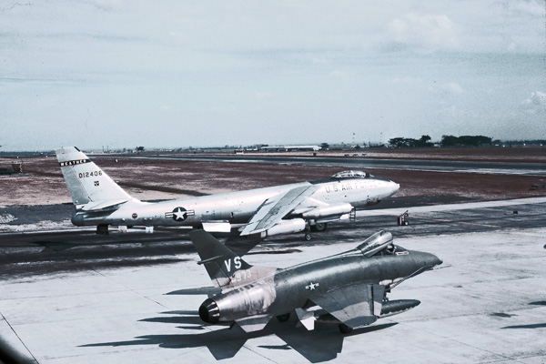 RB-47 and F-100 Clark AFB, Philipines